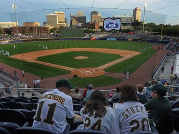 Vanderbilt and Belmont will play in the first college baseball game at First Tennessee Park in 2016.