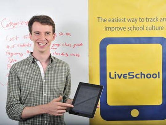 Matt Rubinstein created LiveSchool, which received