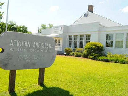 The African American Military History Museum in downtown