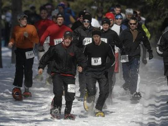 The Wausau area's long-standing snowshoe race, Stomp the Swamp, will be held Sunday at Nine Mile County Recreation Area in Rib Mountain.