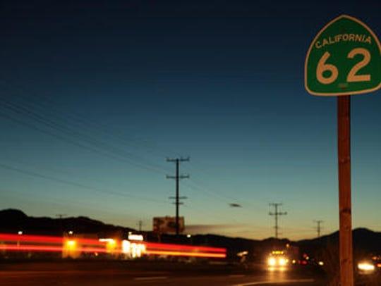 Highway 62 runs through the High Desert. Since 2002,