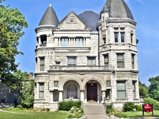 The Conrad-Caldwell House Museum, 1402 St. James Court, is considered one of Louisville's most impressive historic homes.