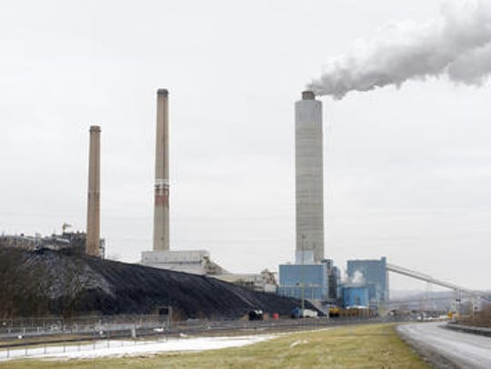 Brunner Island, a coal-fired power plant in York Haven,