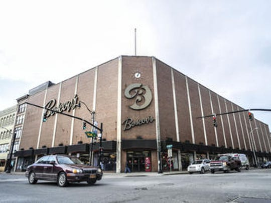 Boscov's store in downtown Binghamton.