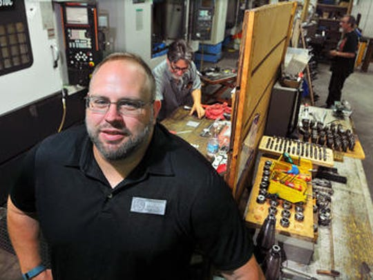Justin Cleveland of Titusville Operations Manager for