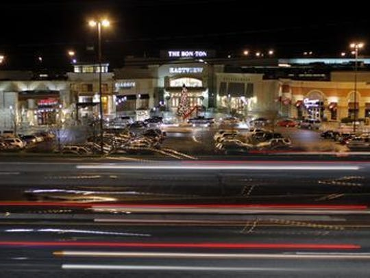 File photo: Route 96 traffic near Eastview Mall in