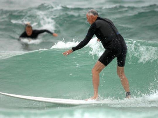 Larry Martin, 71, was a founder of the China Beach Surf Club
