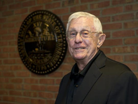 Stan Fossick has served as foreman for more than half