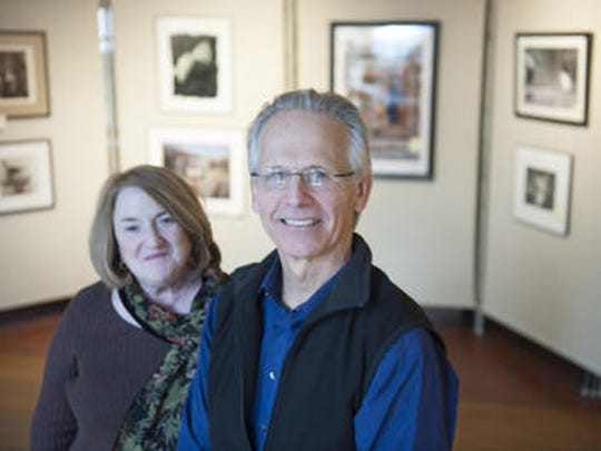 Alan Willoughby (right) was the director of Perkins Center for the Arts for 25 years. He's shown here with current director Karen Chigounis in January of 2016. Willoughby's parents were notable figures, who were leaders in nonviolent protests. Both were cremated when they passed away. Cremation rates in the U.S. have surpassed burial rates several years in a row.