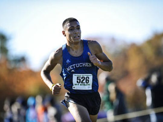 Metuchen's Jake Beacher is the Home News Tribune's Boys Cross Country Runner of the Year