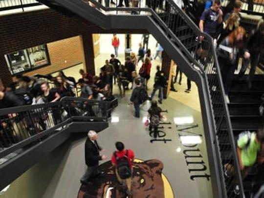 Mt. Juliet High School is well over student capacity
