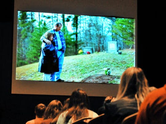 About 150 students showed up to view the anti-bullying message at Cocoa High.