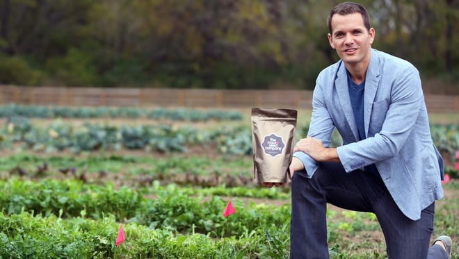 David Mauro launched The Mauro Seed Co. in 2015 after he and his wife decided they wanted to do something for others.