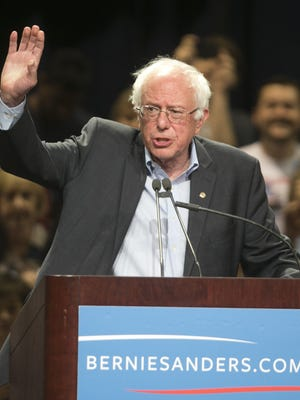 Presidential candidate Bernie Sanders speaks at the Phoenix Convention Center in Phoenix, AZ on July 18, 2015.