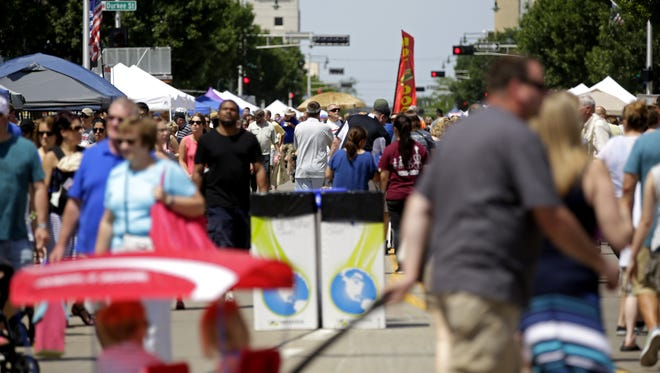 The Downtown Appleton Farm Market moves outside for the season on June 16.
