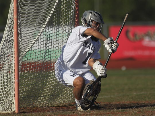 Lacrosse District semifinal - Lincoln vs. Maclay