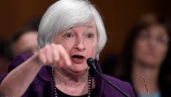 Federal Reserve Chair Janet Yellen told a Senate committee