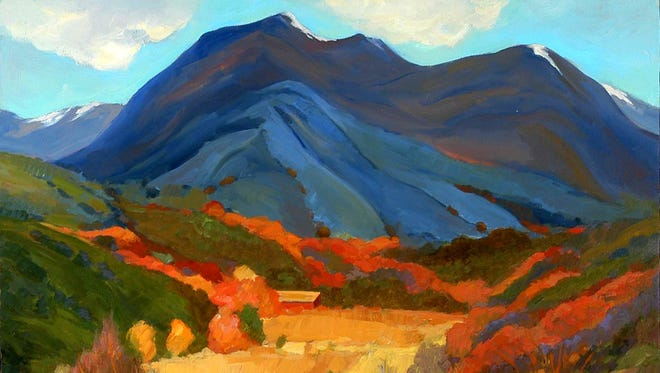 """Valdez Arroyo, New Mexico"" by Lynne Friedman."