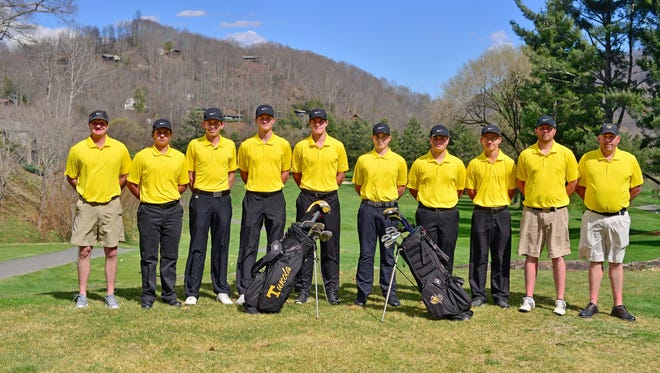The Tuscola golf team.