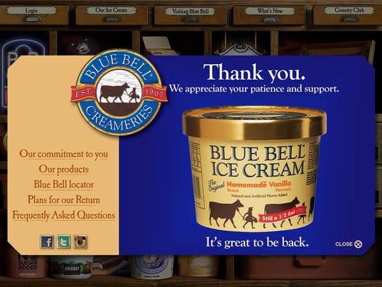 Blue Bell Ice Cream Back On Shelves