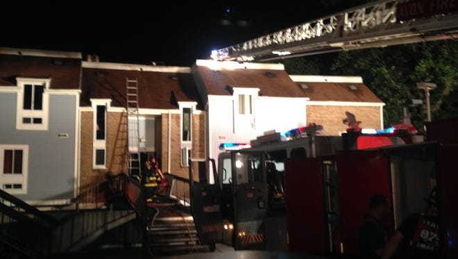 Neptune City residents were displaced by an overnight fire.