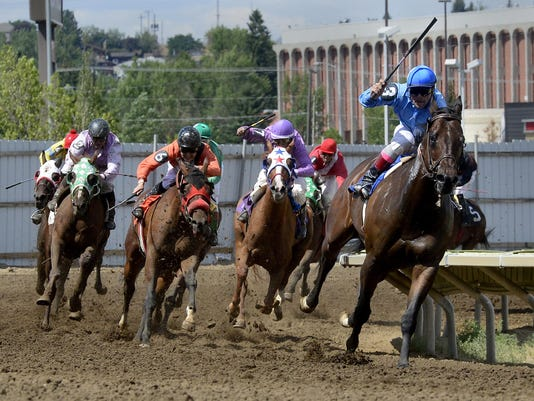 3 2015 State Fair horse racing