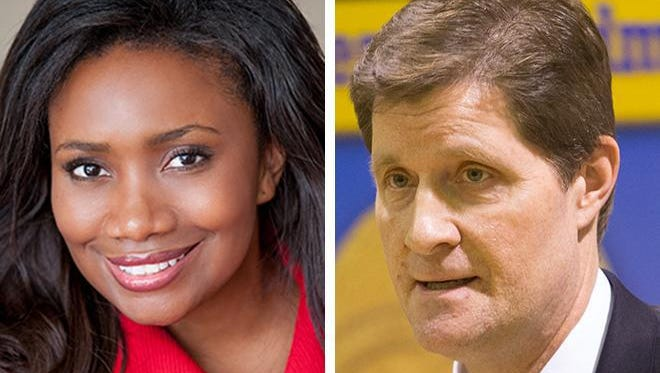 Verona Swanigan is a Milwaukee attorney that's challenging Milwaukee County District Attorney John Chisholm. ---- credit: campaign photo & Mark Hoffman