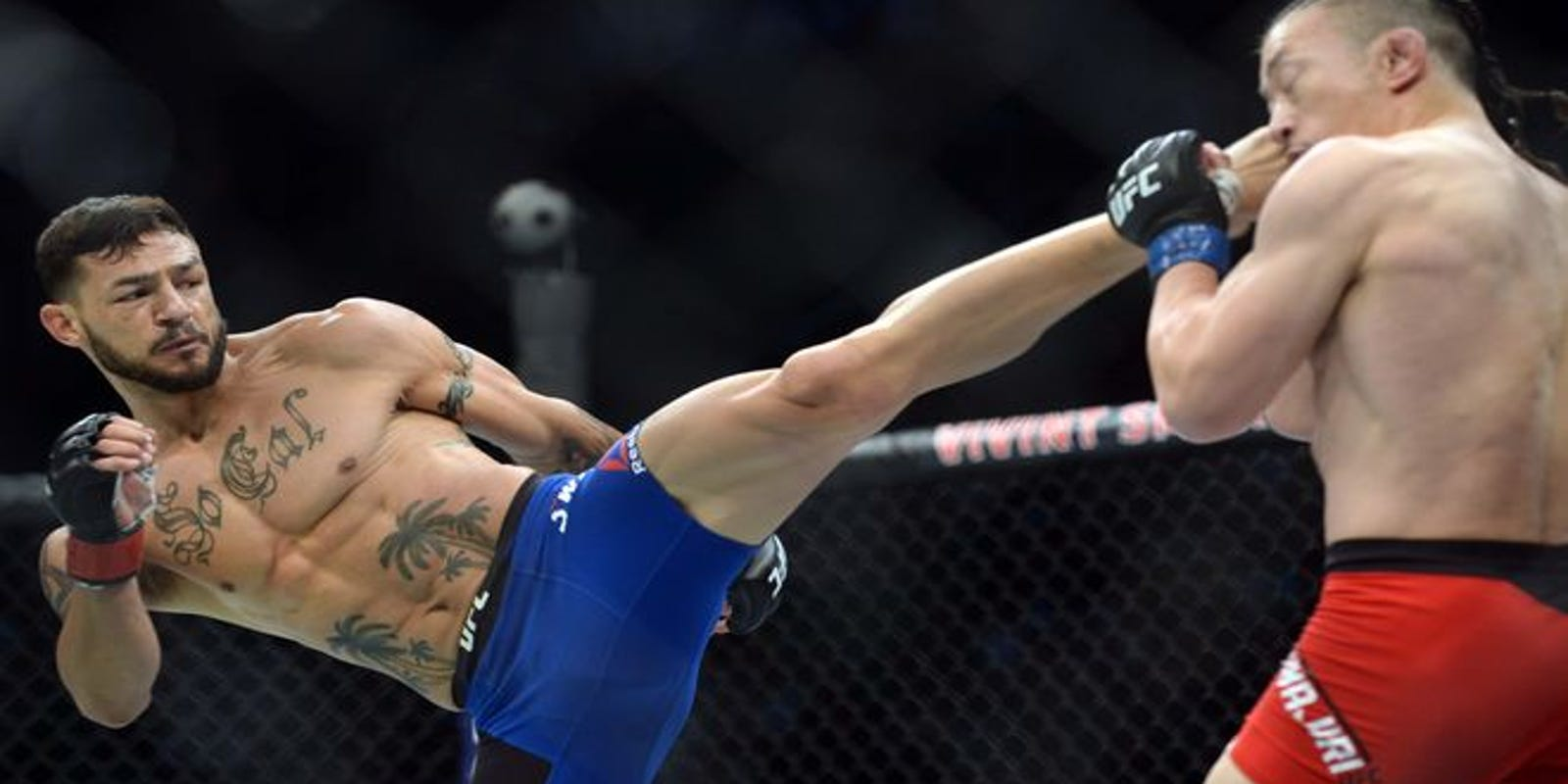 UFC's Cub Swanson still aiming for end-of-year return while rehabbing left knee