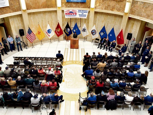Veterans Day New Mexico Legislature