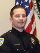 Officer Edman Escallada of the Palm Springs Police Department.