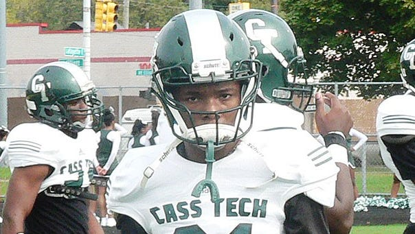 Detroit Cass Tech cornerback Kalon Gervin.