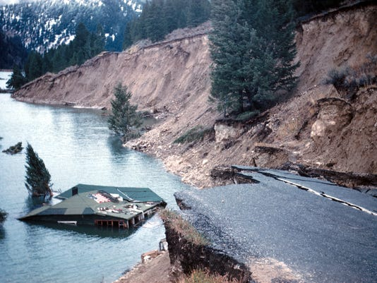FAL 0914 MT Moment 1959 Earthquake