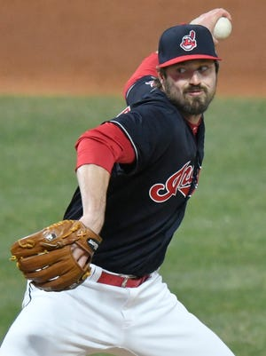 Cleveland Indians relief pitcher Andrew Miller has been put on the disabled list.