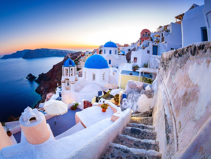 Travel To Santorini Greece From Usa