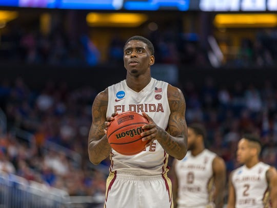 Florida State shooting guard Dwayne Bacon is projected to be a second round pick during the 2017 NBA Draft this June.