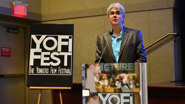 YoFi Fest Creative Director Dave Steck gives a welcome