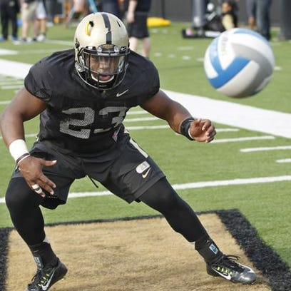 Purdue RBs coach Jafar Williams: 'They're all competing'
