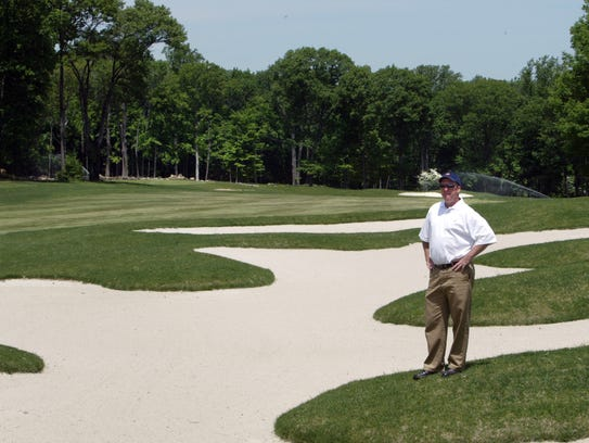 Kevin Purcell, general manager for golf courses in