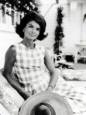 """This is one of more than 30 images that will be on display as part of """"The Making of a First Lady, A Tribute by Jaques Lowe to Jacqueline Kennedy Onassis"""". The exhibit is up Aug. 7-23 at The Atrium at Citicorp in New York. --- DATE TAKEN: Unavailable  By Jaques Lowe          HO      - handout ORG XMIT: UT78567"""