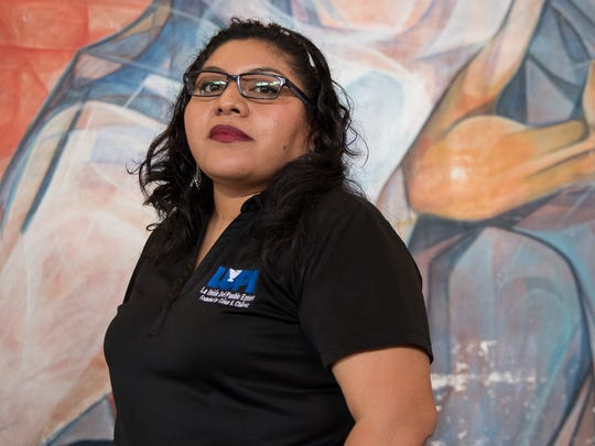 Tania Chavez, 32, a DREAMer in San Juan, Texas.