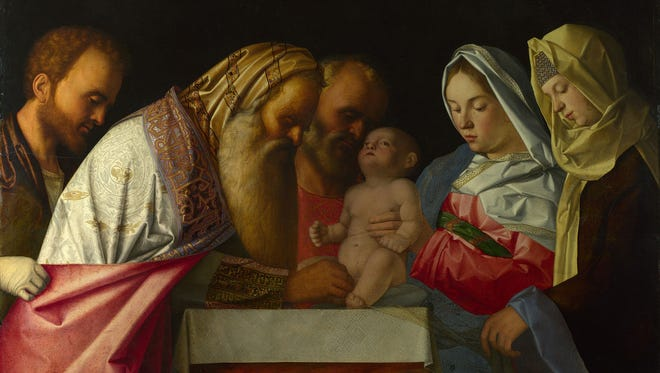 """""""The Circumcision,"""" circa 1550, by Giovanni Bellini. Although Jesus was reportedly circumcised, the apostle Paul urged Christians to forgo the ritual."""