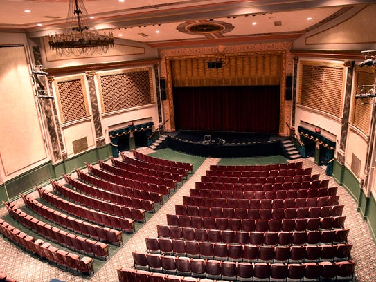 Inside of Capitol Theatre, photographed on Wednesday,