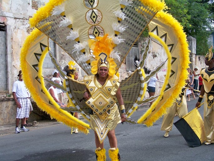 As a former Danish colony with few Catholic connections, the carnival in St. Thomas isn't tied to the timing of Easter. This year, it's in late spring.