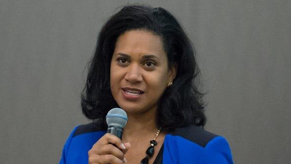 Dr. Kara Odom Walker, secretary of the Delaware Department