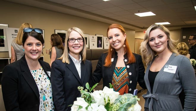 Ballet Ball 2017 Late Party co-chair Janie Berry, left, Veruschka Halligan, Jeanette Barker and Kate Carlson at the Ballet Ball 2017 Committee Kickoff held at Nashville Ballet.