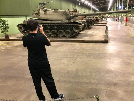 The American Armoured Foundation Tank Museum in Danville