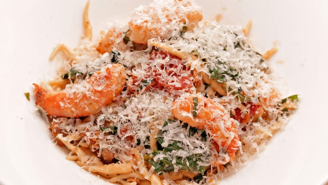 The skillfully crafted Radio Milano pasta troife from Buck & Rider in Phoenix is one of the strongest entrees.
