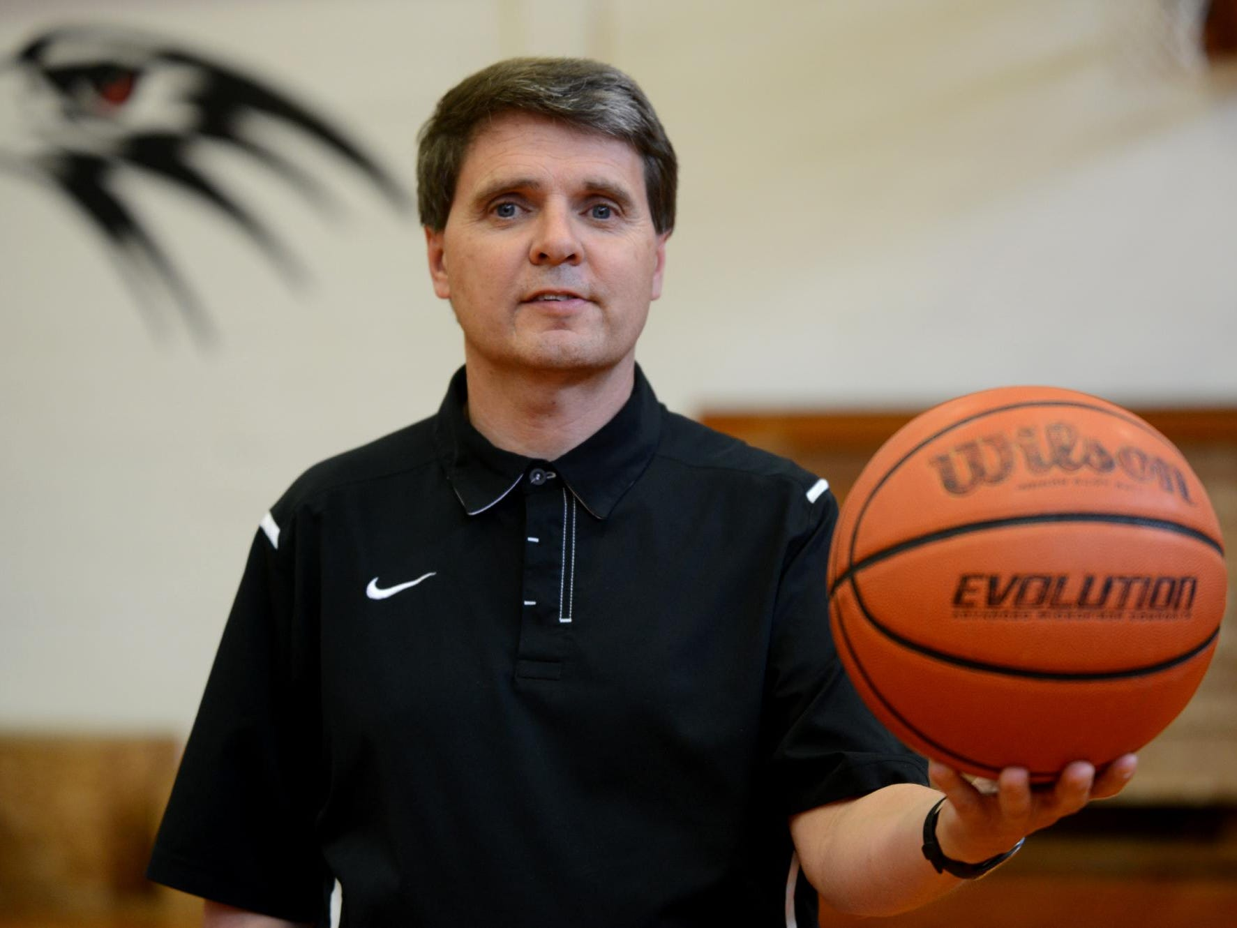 Steve Patterson was named All-West Tennessee Girls' Basketball Coach of the Year in 2013.