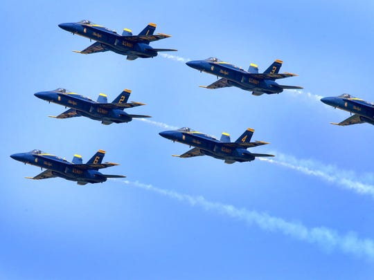 The U.S. Navy Flight Demonstration Squadron, better known as the Blue Angels, will return the Smyrna Airport for the Great Tennessee Air Show in 2019.