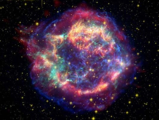 Cassiopeia_Hubble photo
